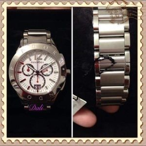 Used, Pandora Grand C Watch Stainless Steel BandNWT for sale